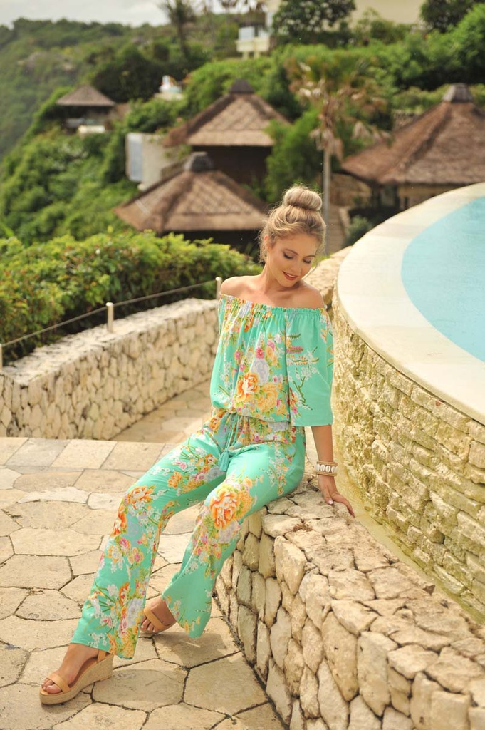 Jumpsuit Mykonos Blue Moon